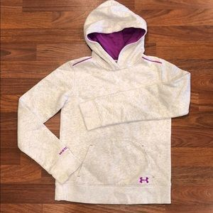 Under Armour Pullover Hoodie Youth M